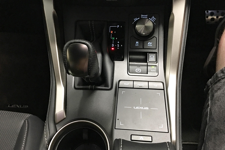 2019 Lexus NX 300h AWD F Sport centre console