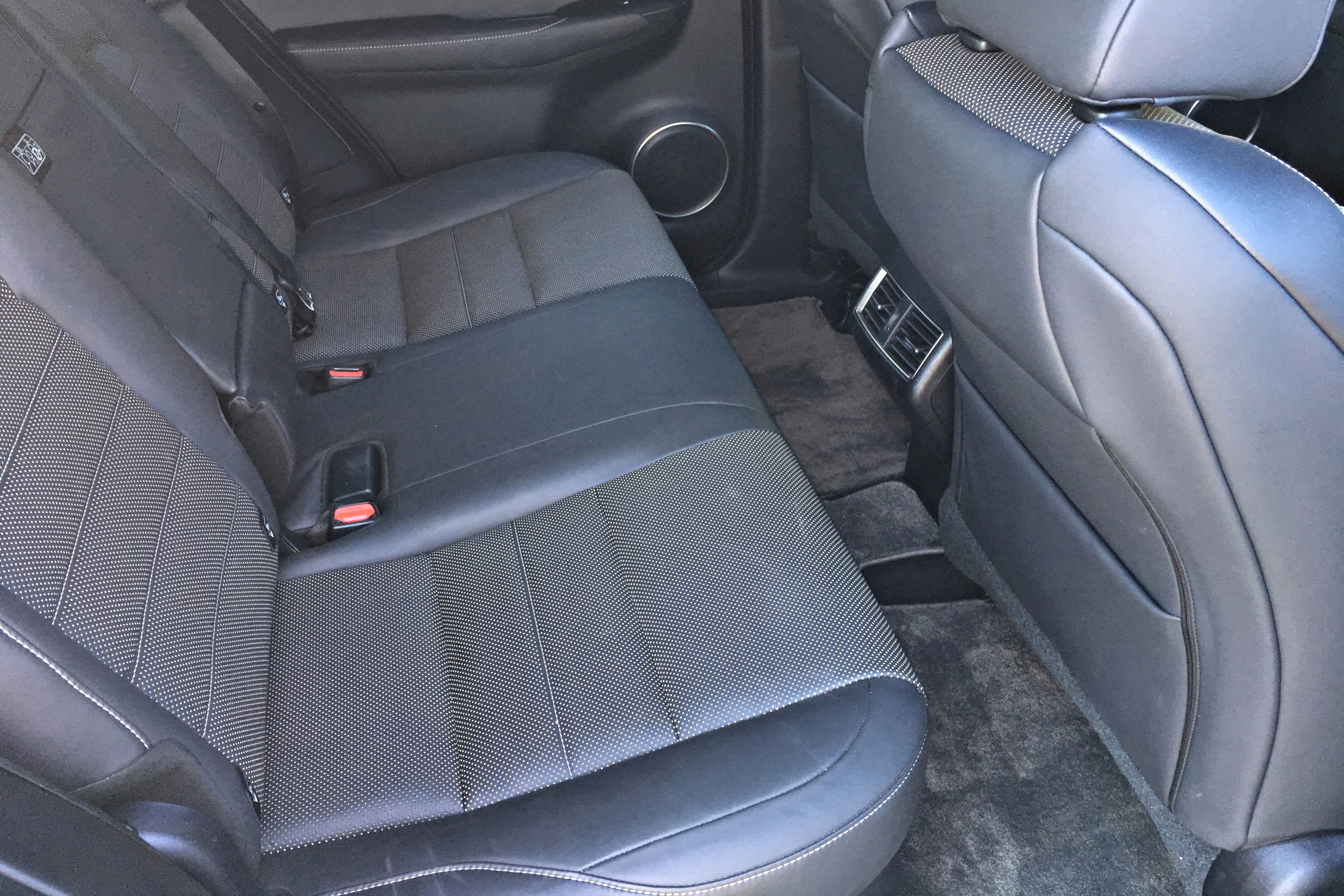 2019 Lexus NX 300h AWD F Sport rear seats