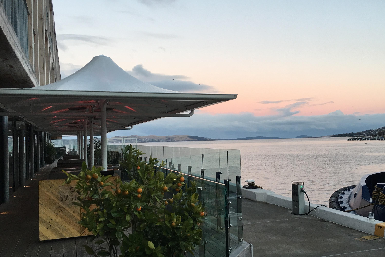 2019 Subaru Tasmania drive MACq 01 wharf