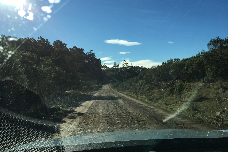 2019 Subaru Tasmania drive dirt roiad