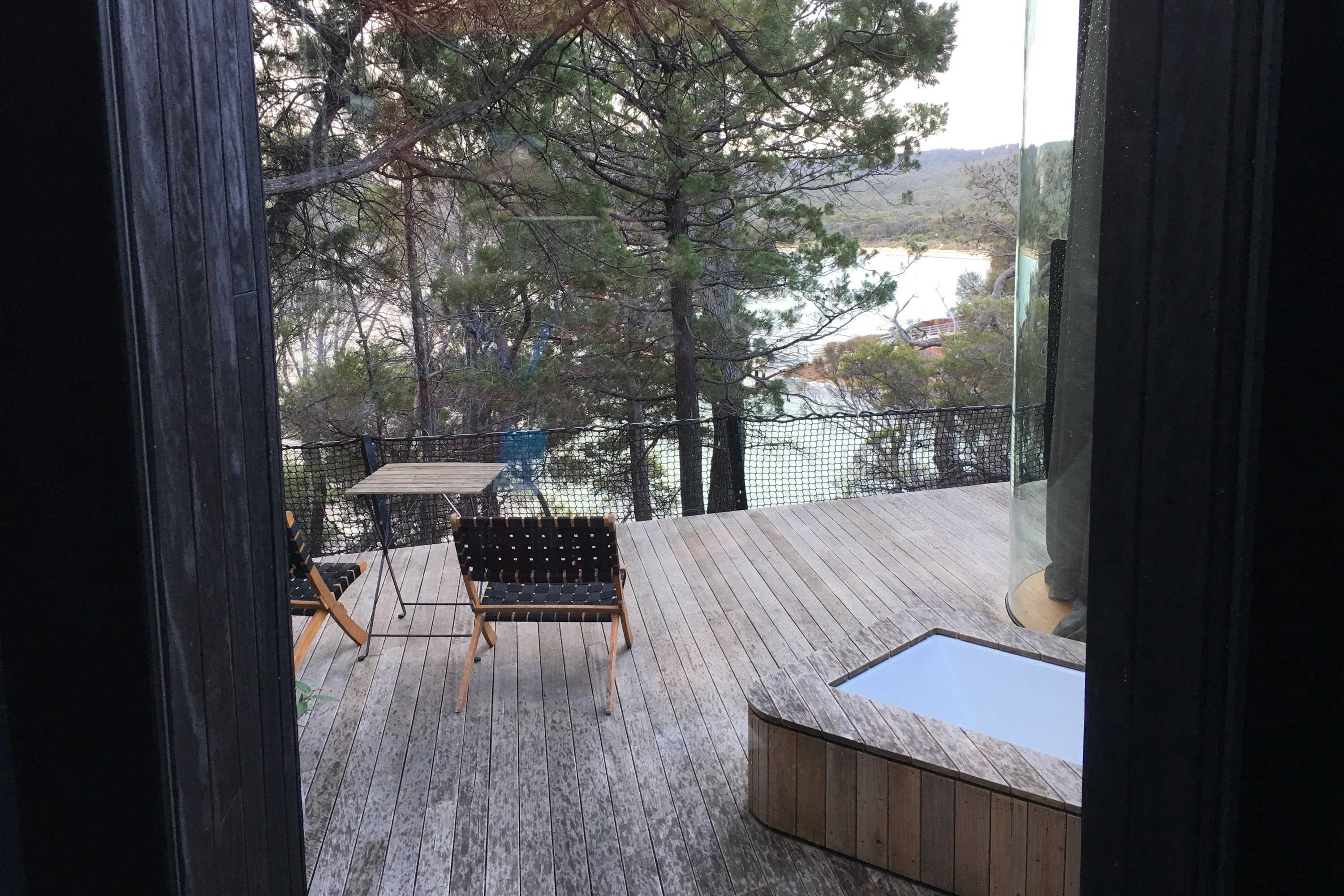 2019 Subaru Tasmania drive freycinet Lodge room view