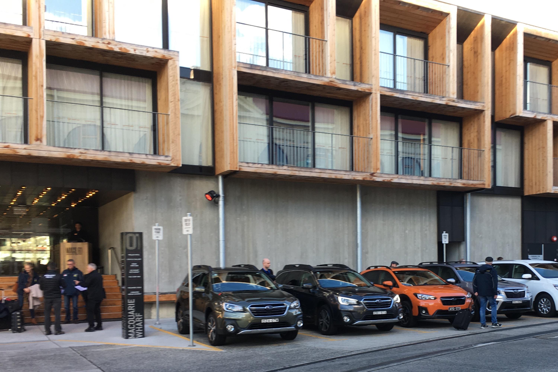 2019 Subaru Tasmania drive leaving MACq 01