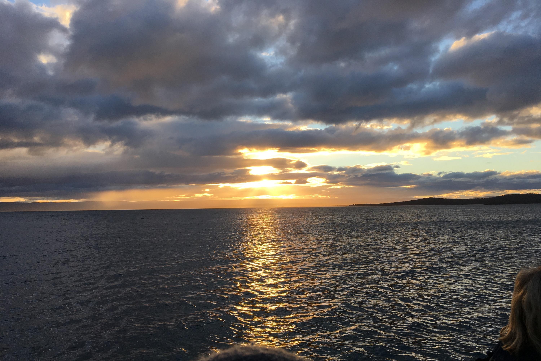 2019 Subaru Tasmania drive sunset Coles Bay