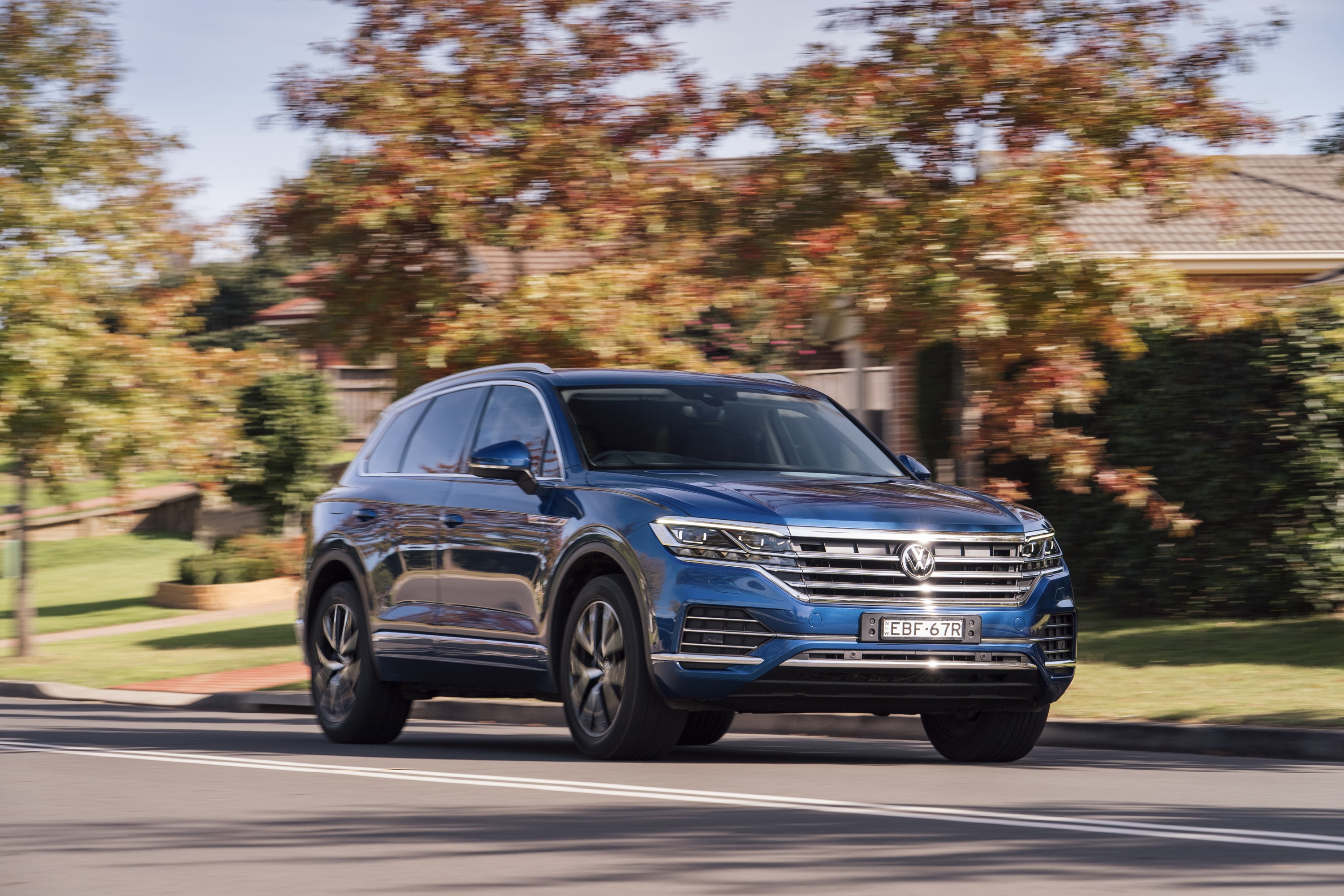 2019 VW Touareg Launch Edition 1 front three quater
