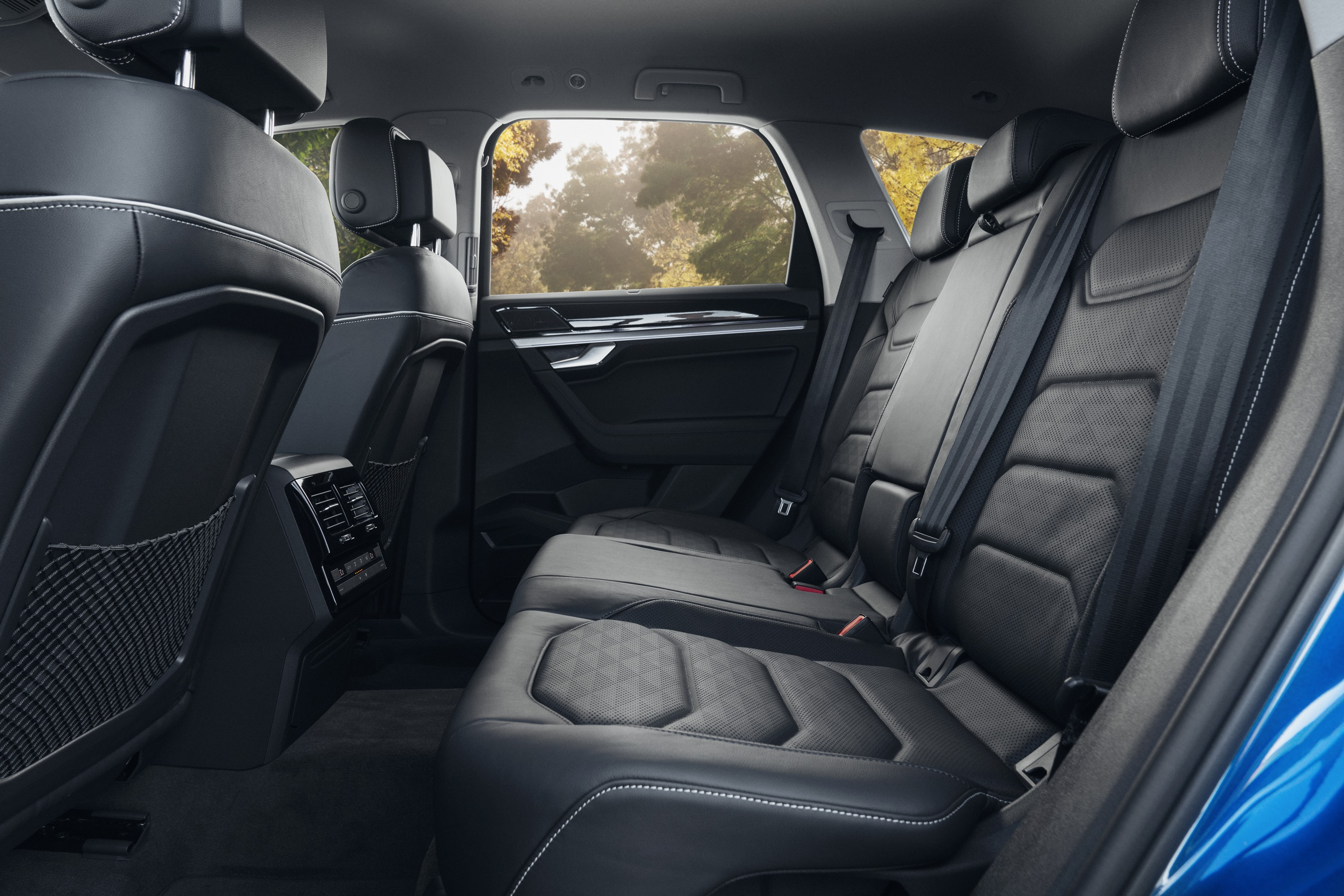 2019 VW Touareg Launch Edition 11 rear seats