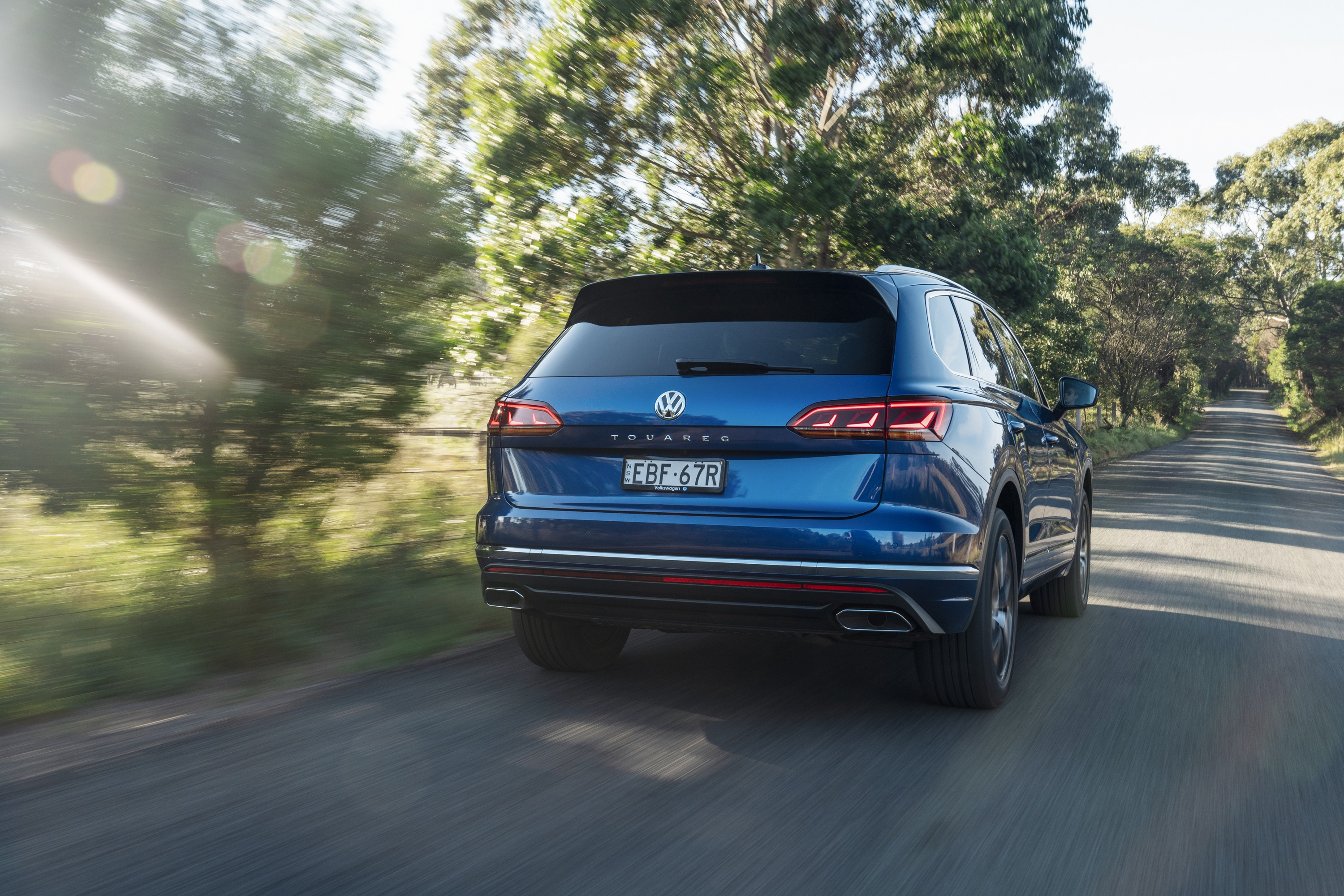 2019 VW Touareg Launch Edition 15 rear