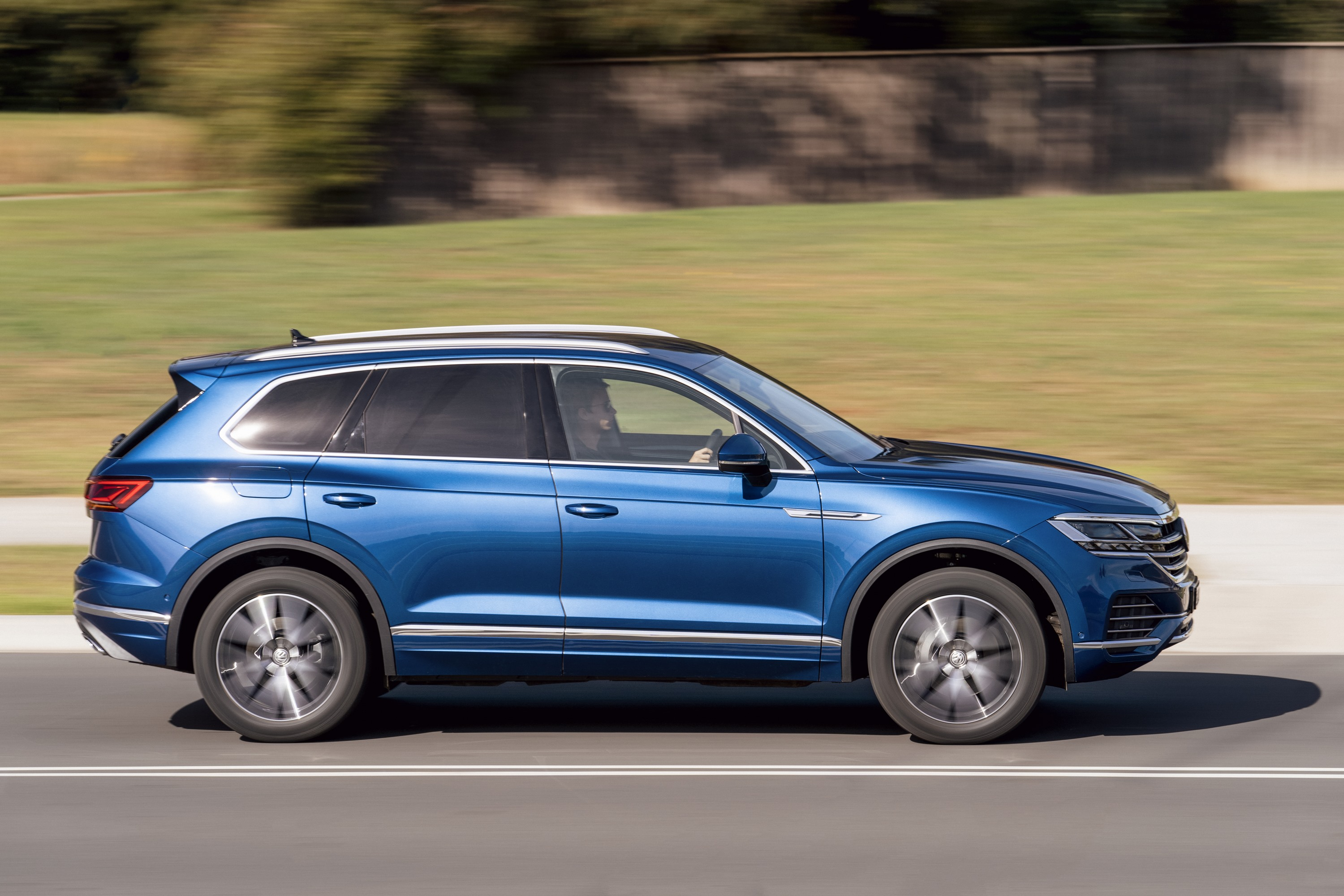 2019 VW Touareg Launch Edition 5 front three quater