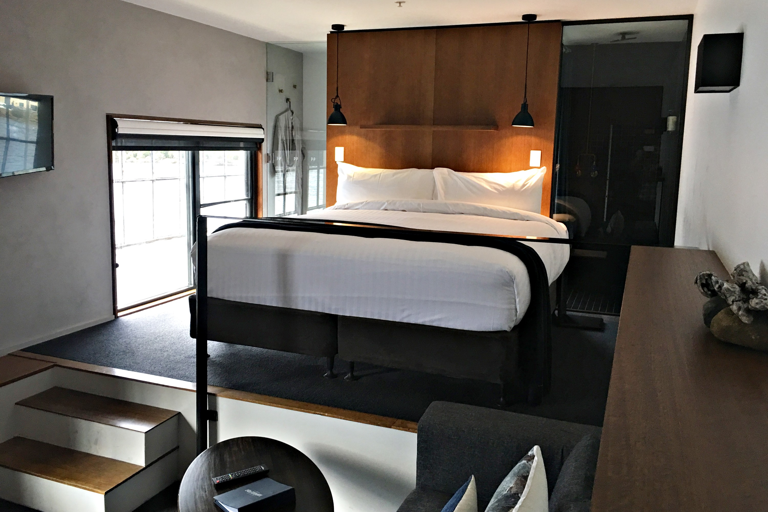 Pumphouse Point bedroom