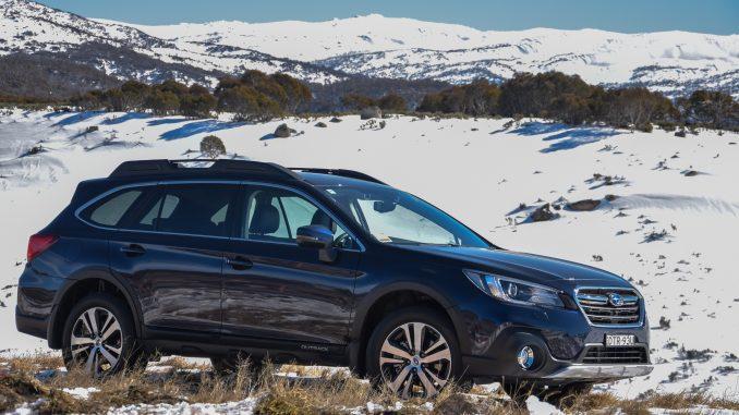 Snow driving tips car in snow Subaru