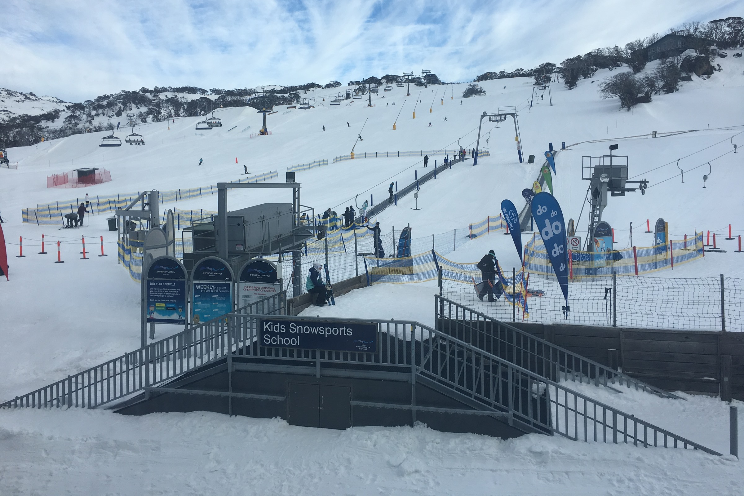 Snow driving tips car perisher