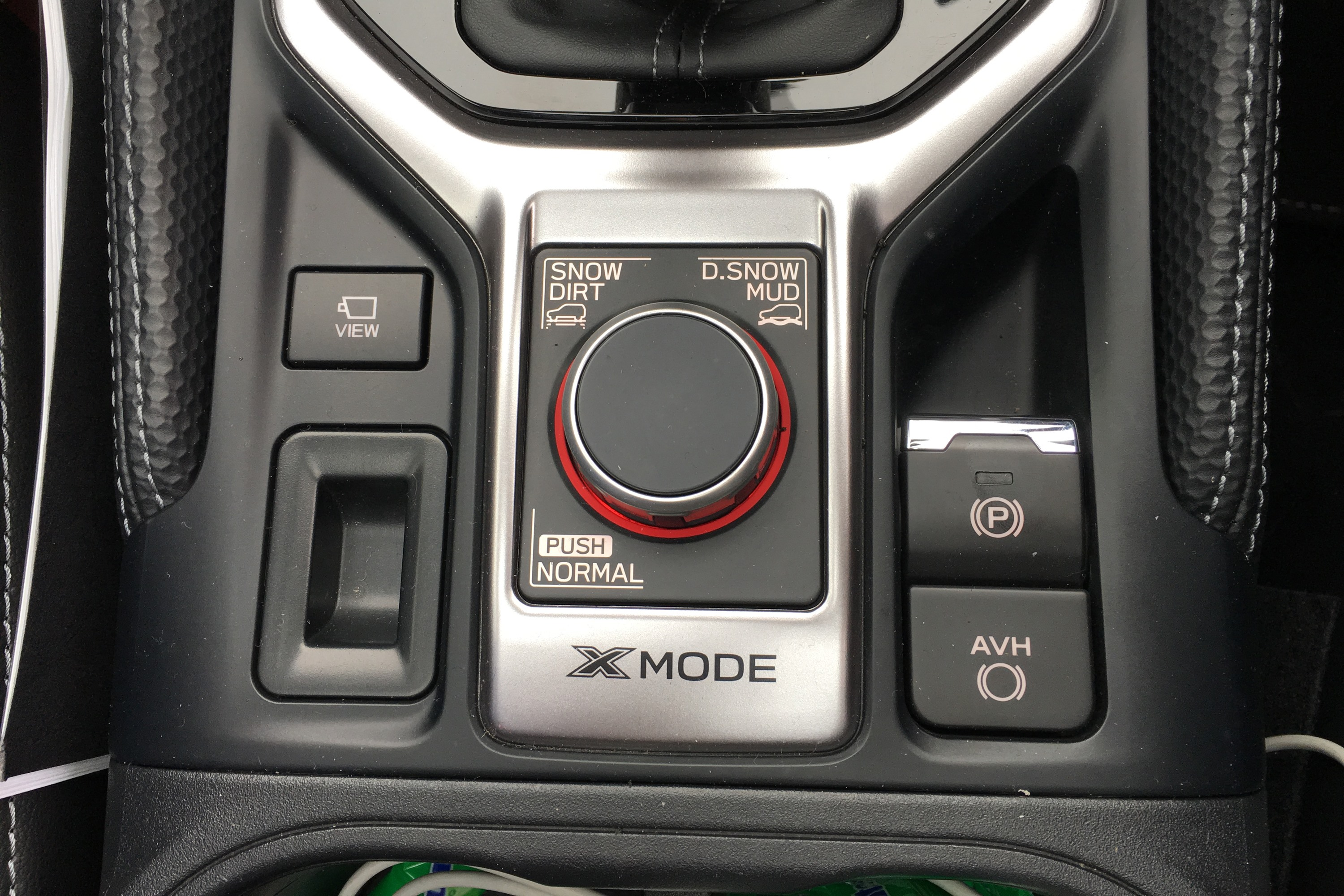 Subaru Forester X Mode controls