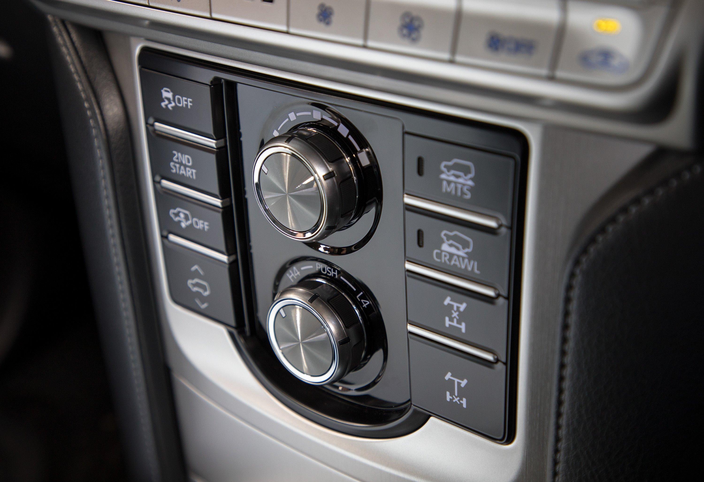 Toyota LandCruiser Prado Features