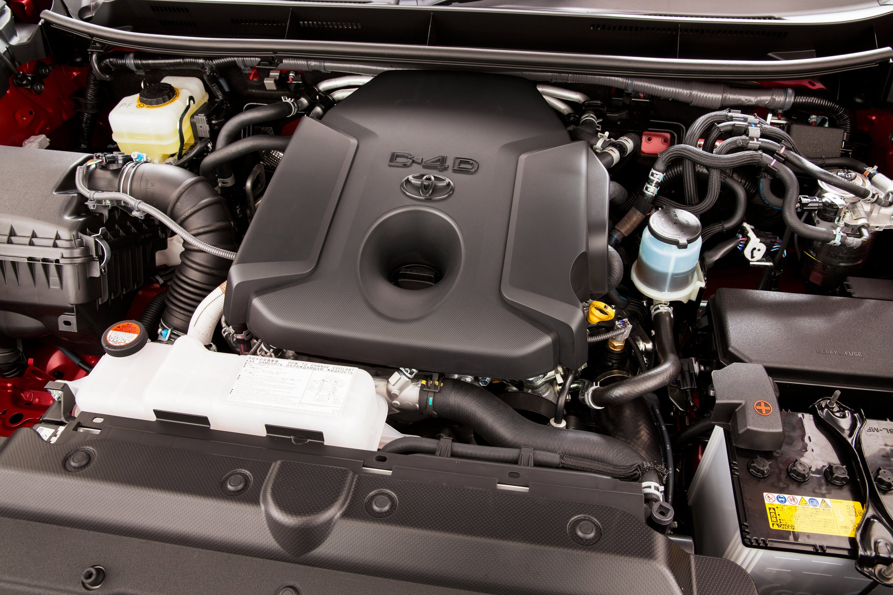 Toyota Prado 2.8 litre 1GD engine