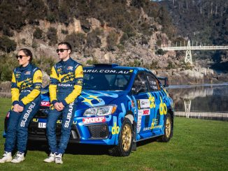 Pedders Eureka Rush Rally drivers