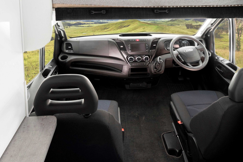 2019 Avida Ceduna Motorhome C7194 drive dash