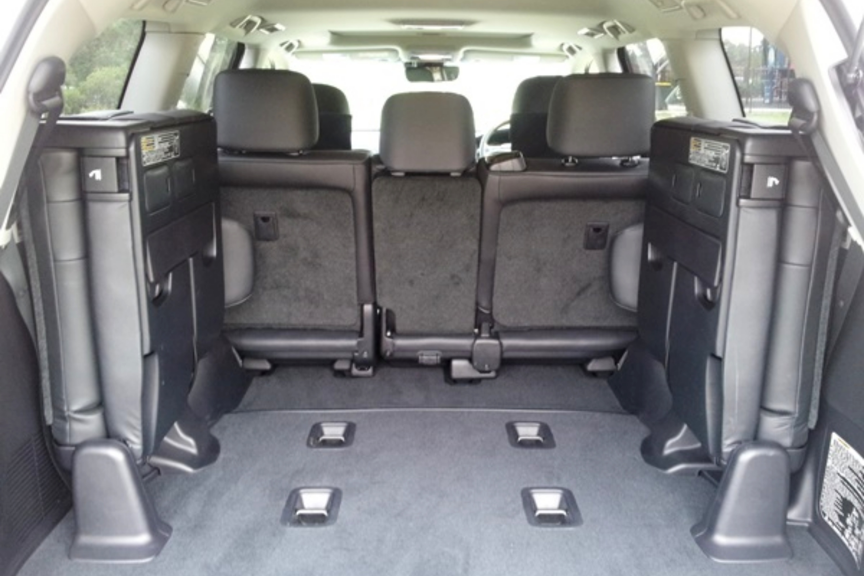 2019 Toyota LandCruiseer 200 VX rear seats third row