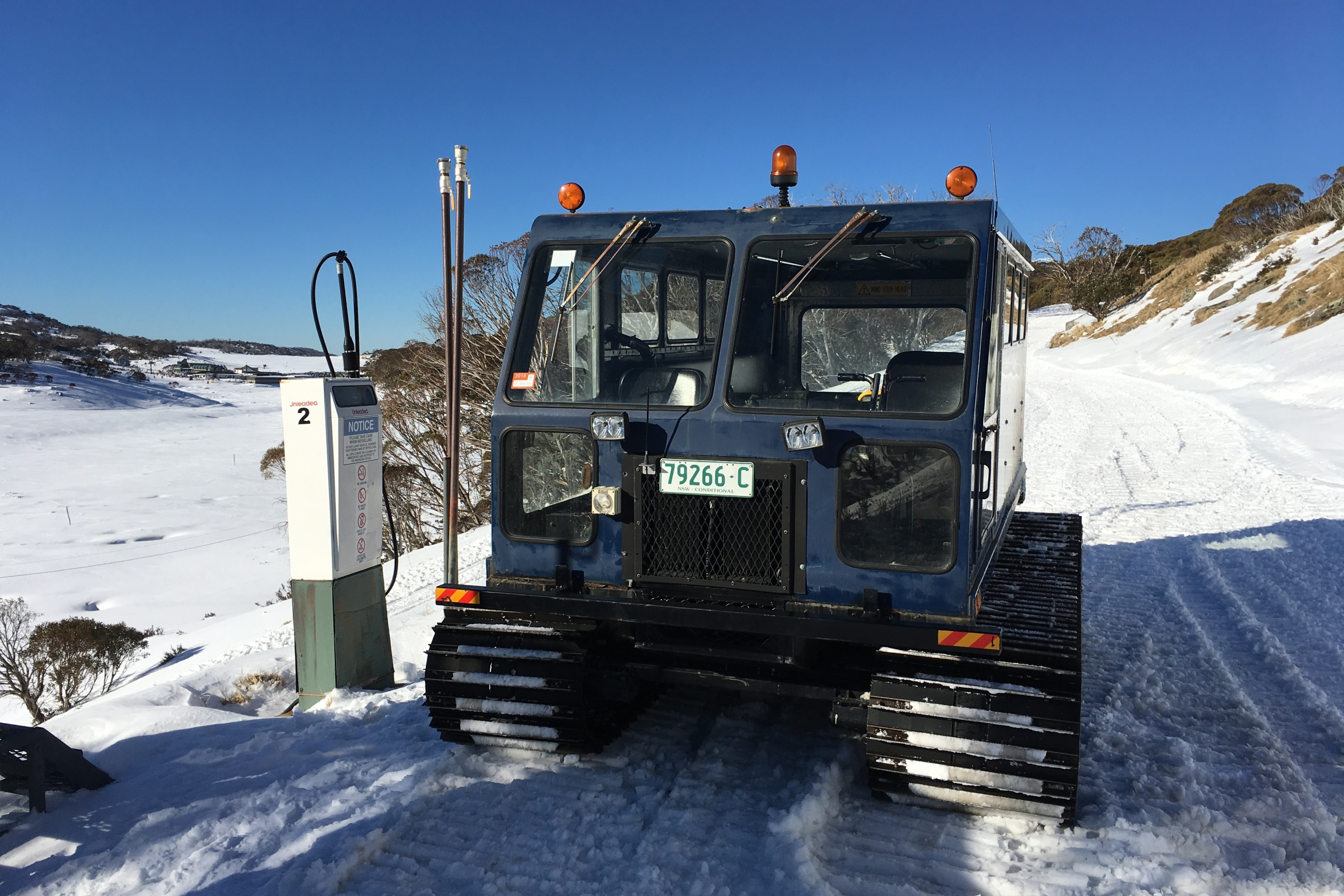 Perisher Trip snow mobile