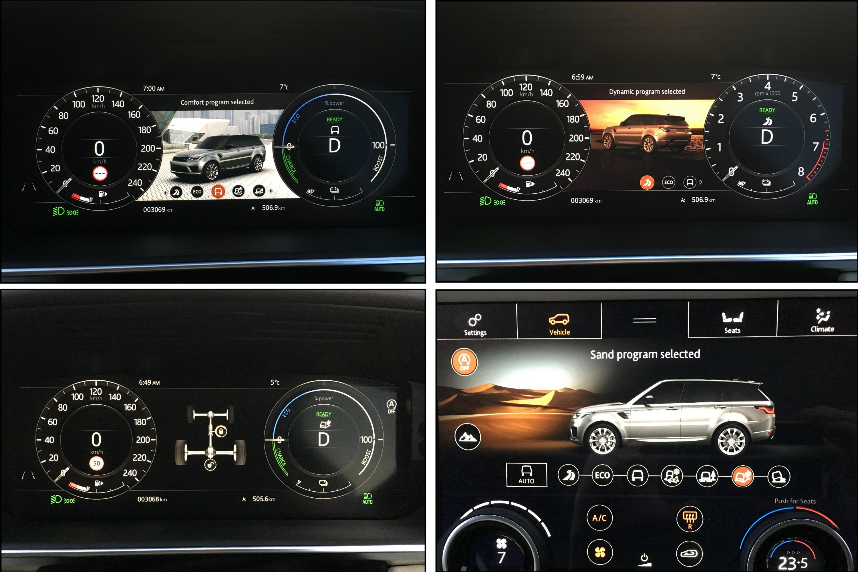 2019 Range Rover PHEV 22 DRIVE PROGRAMS