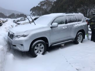 2019-Toyota-Prado-GXL-7 snow parking