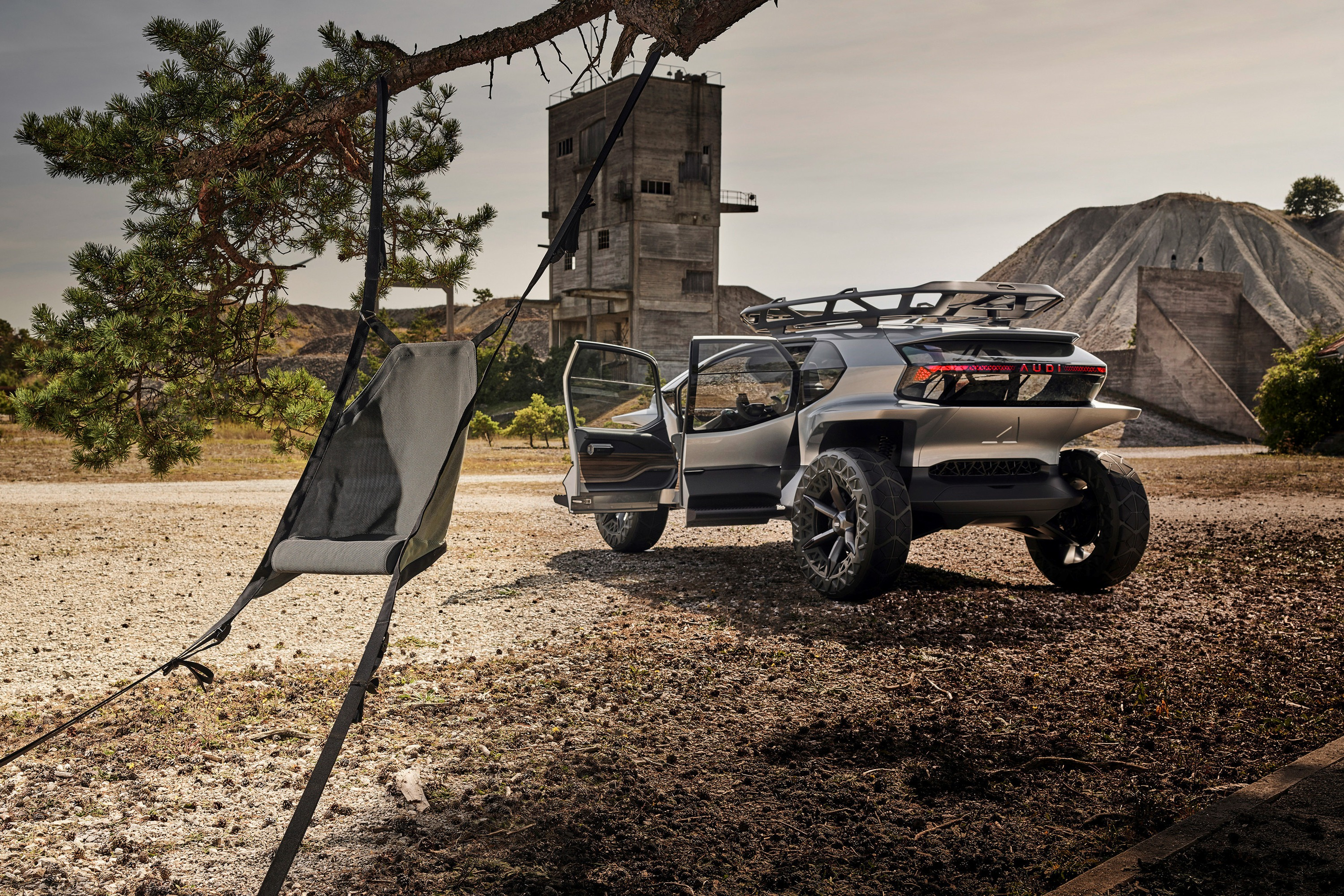 The Audi AI:TRAIL quattro, a comprehensive concept for sustainable mobility off the beaten track.