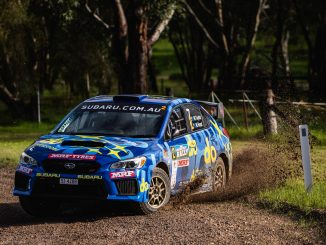 Molly Taylor and co-driver Malcolm Read grew in confidence throughout the morning, in their Orange Motorsport-prepared All-Wheel Drive Subaru WRX STI.