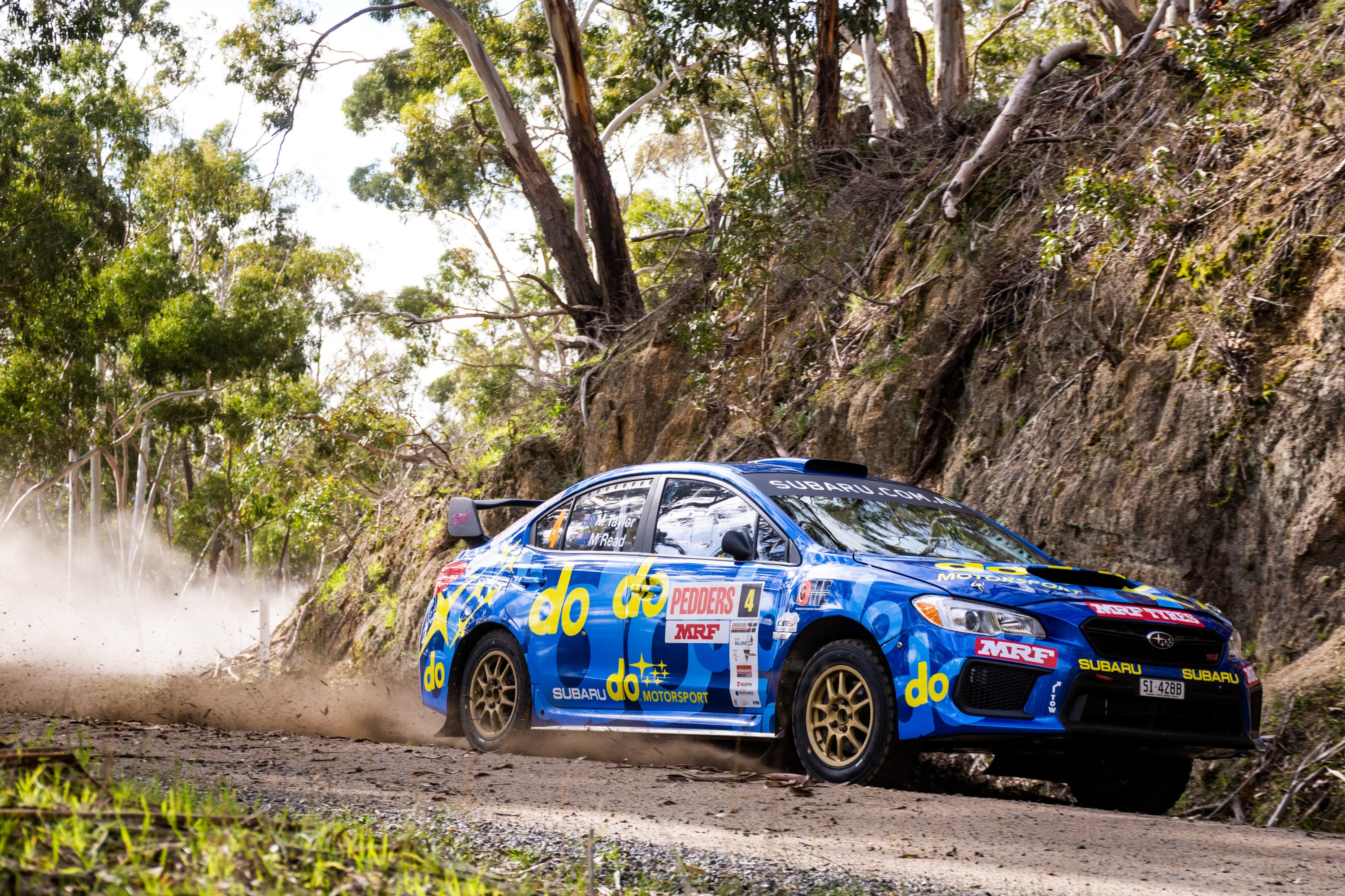 The Orange Motorsport-prepared All-Wheel Drive Production Rally Car (PRC) class WRX STI of Molly Taylor and Malcolm Read is back on peak form after a premature end to the team's Eureka Rally run in Victoria, last month.