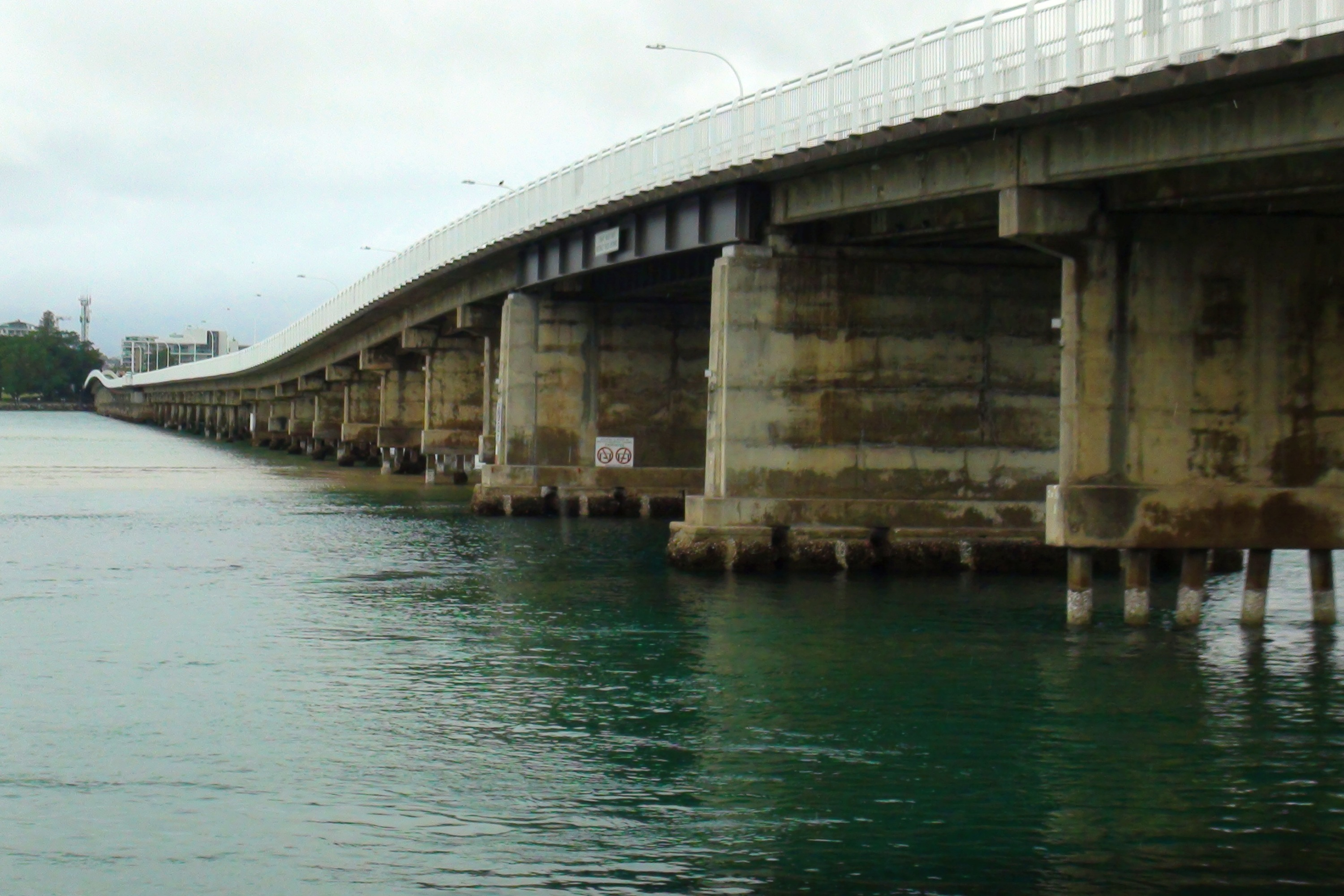 Subaru Drive into Spring Foster Tuncurry Bridge
