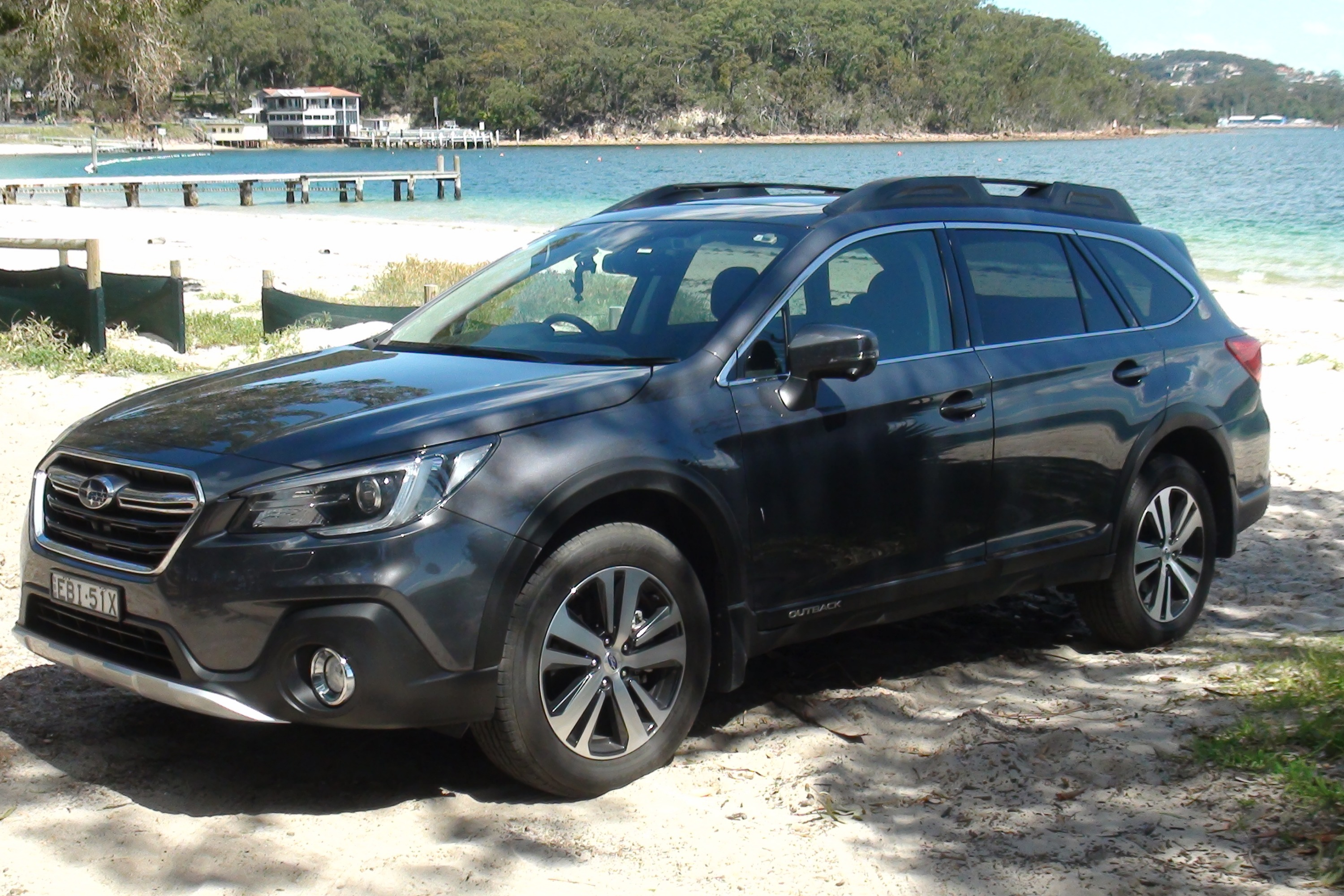 Subaru Outback Spring Drive Little Beach