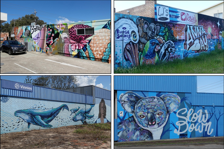 Subaru Outback Spring Drive Street Art Anna Bay