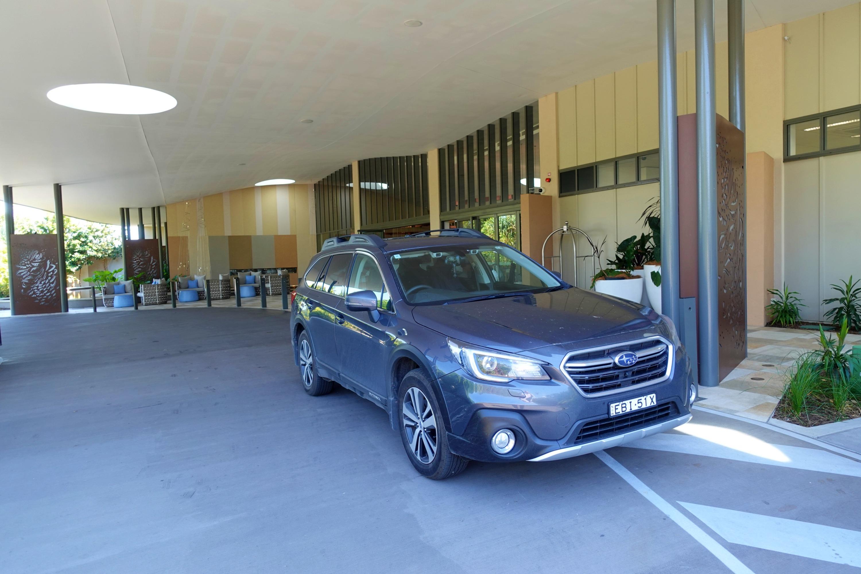 Subaru Drive into Spring Elements in Byron