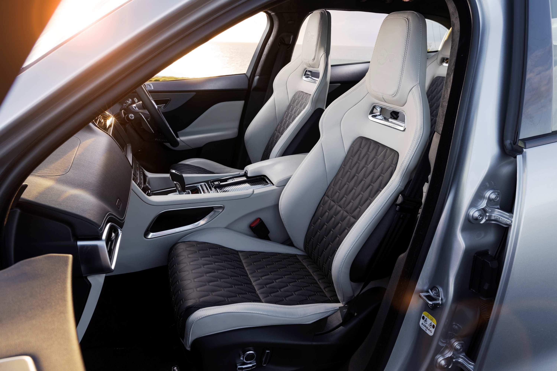 2020 Jaguar F-PACE SVR 4 front seats