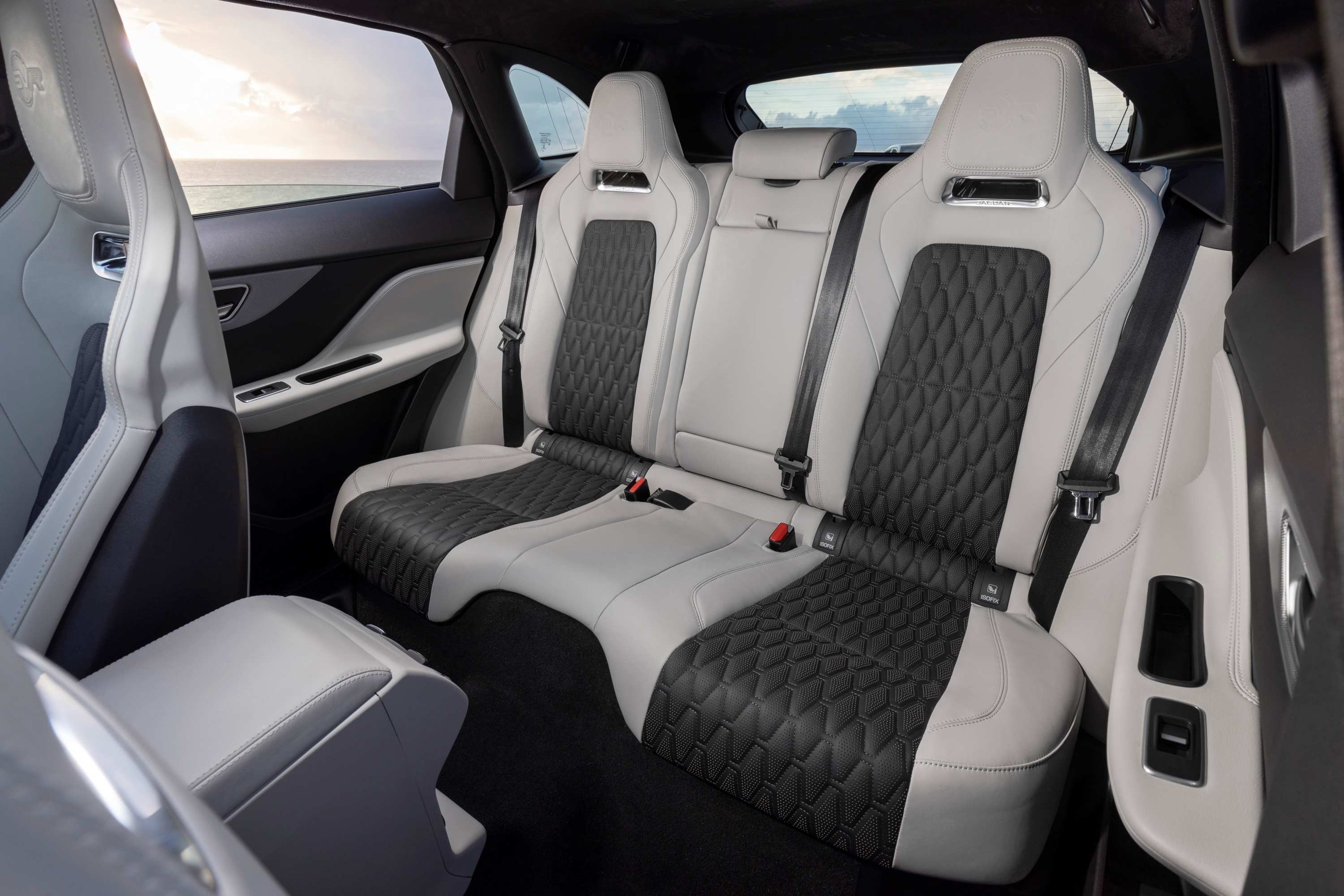2020 Jaguar F-PACE SVR 5 rear seats