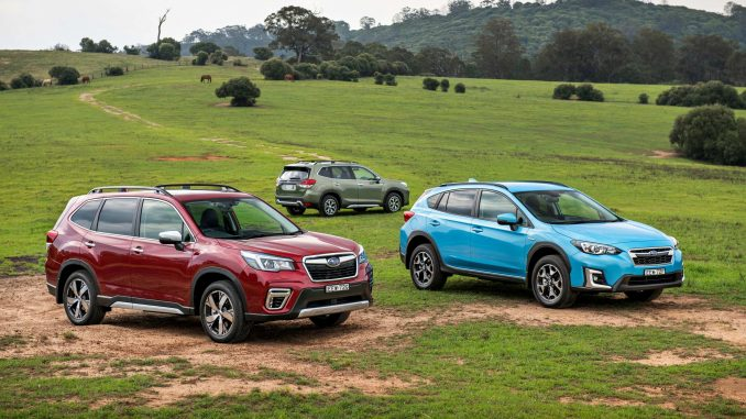 2020 Subaru Hybrid Forester S, Forester L and XV. (Photo Narrative Post/Matthias Engesser)