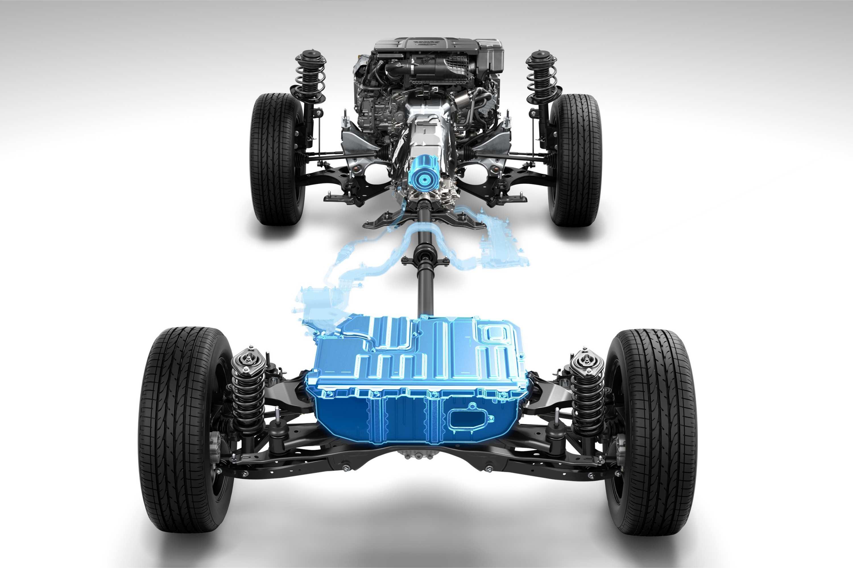 2020 Subaru e-Boxer Hybrid Drivetrain