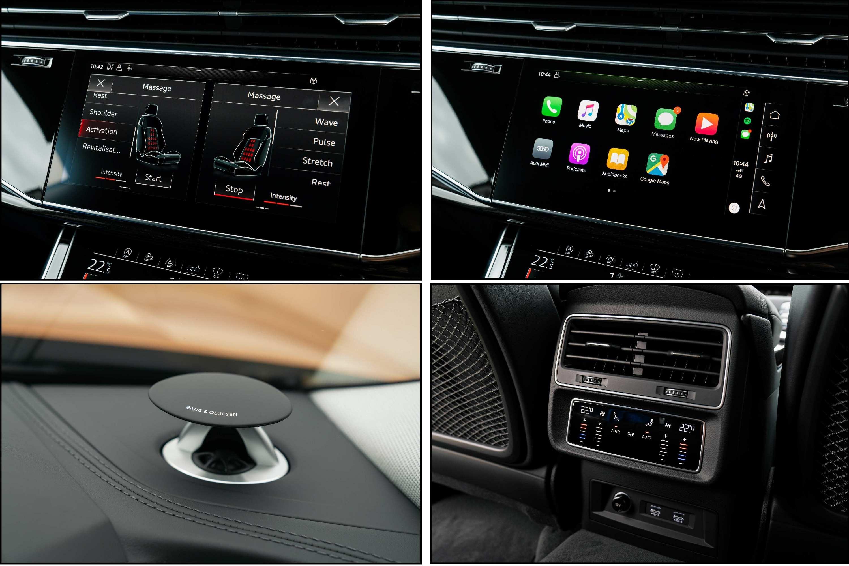 2020 Audi Q8 55 TFSI Quattro S-Line Features