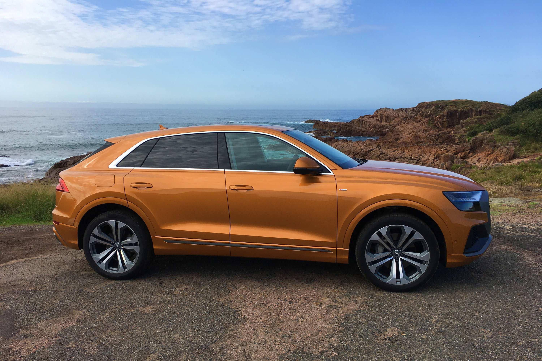 2020 Audi Q8 S Line 1 profile