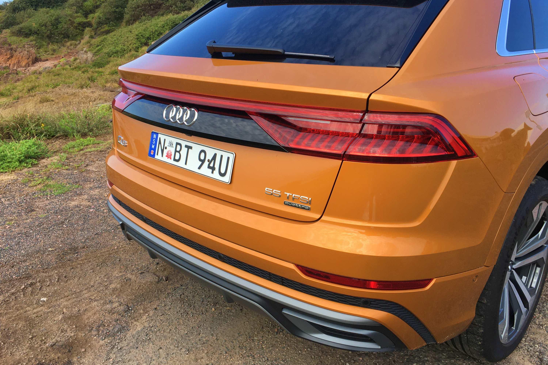 2020 Audi Q8 S Line 4 rear
