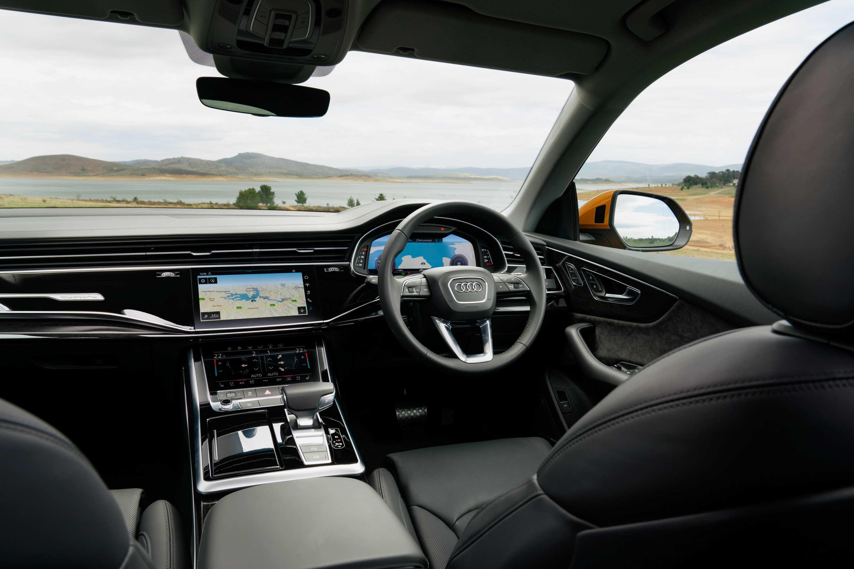 2020 Audi Q8 55 TFSI Quattro S-Line interior