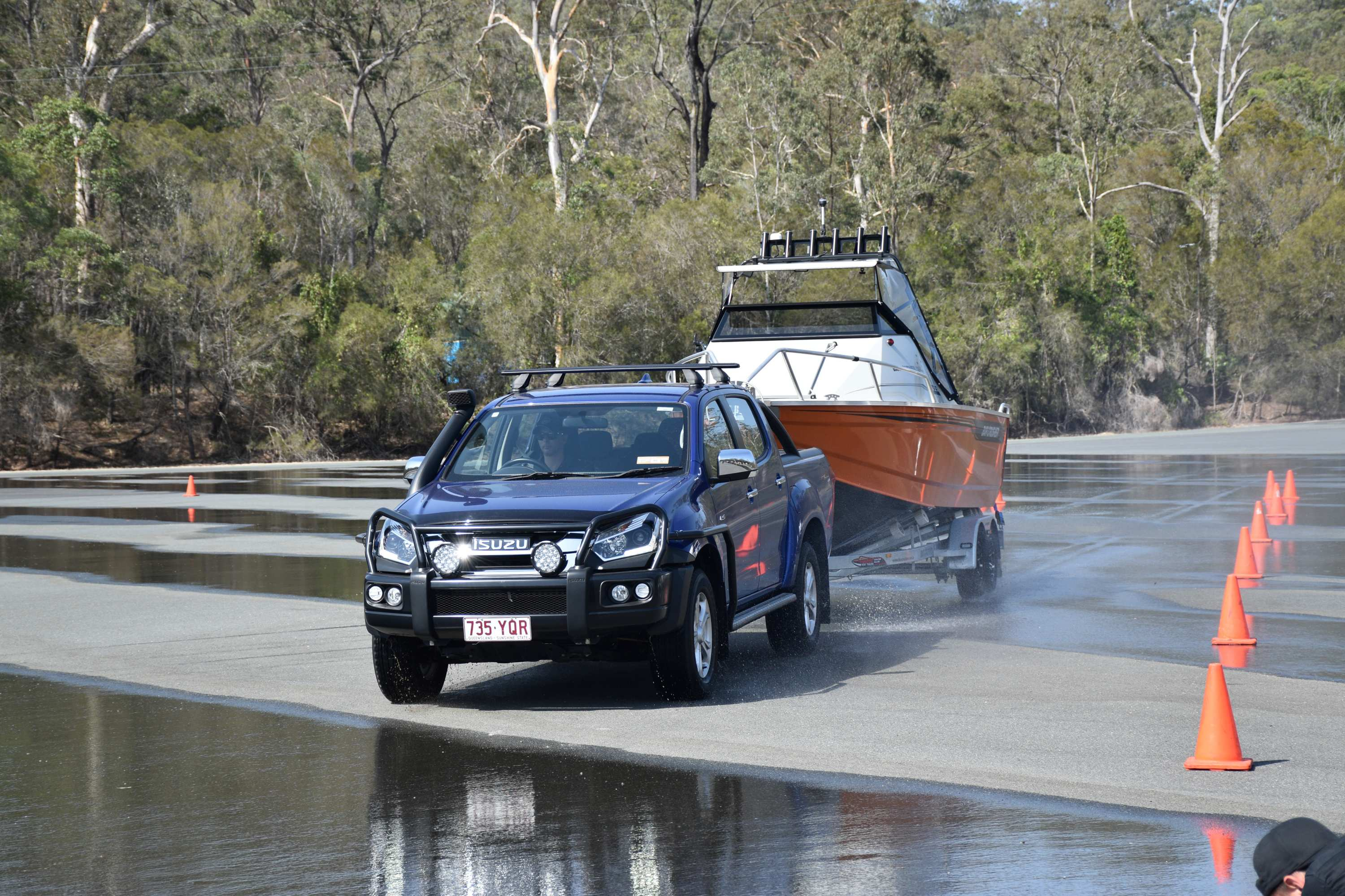 Isuzu D-MAX and MU-X drivers across the country actively continue to engage with Australia's only vehicle manufacturer initiative of its kind that incorporates driver training days and extended training tours throughout the year—further enabling Isuzu owners to Go Their Own Way under the guidance of accredited 4x4 instructors.