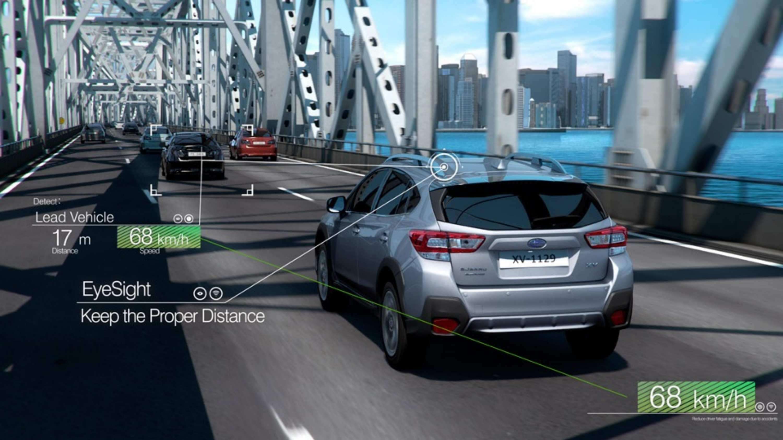 2020 Subaru Adaptive Cruise Control