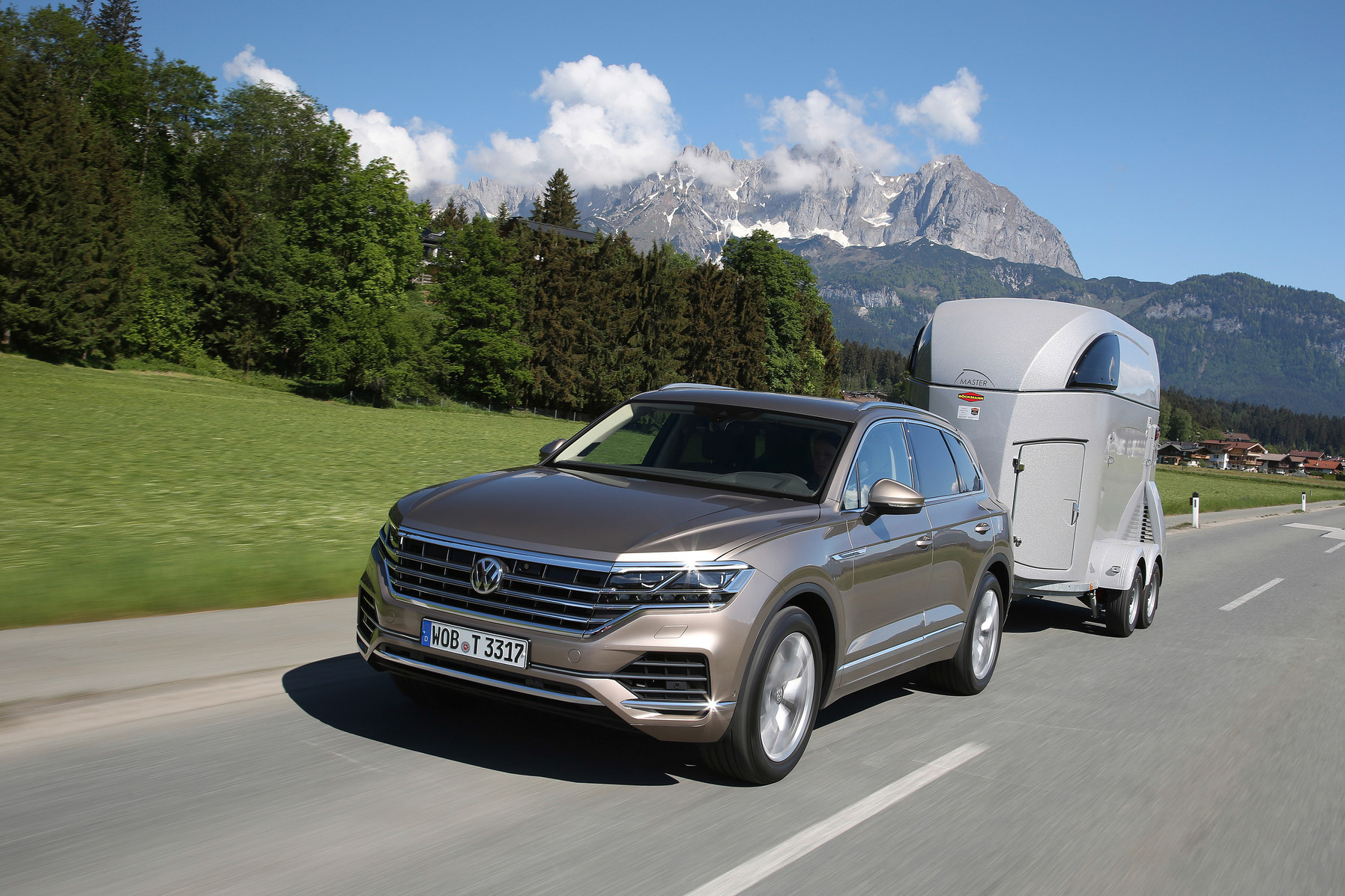 150 Adventure special editions build on the Touareg 190TDI Premium variant in blending luxury comfort with off-road capability will be available in August.