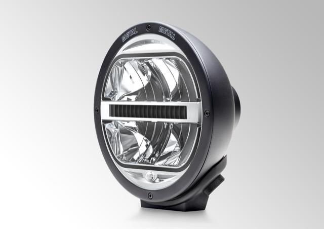 HELLA Rallye 4000 LED 1F8 016 560-101 Satin Black, Spread Beam.
