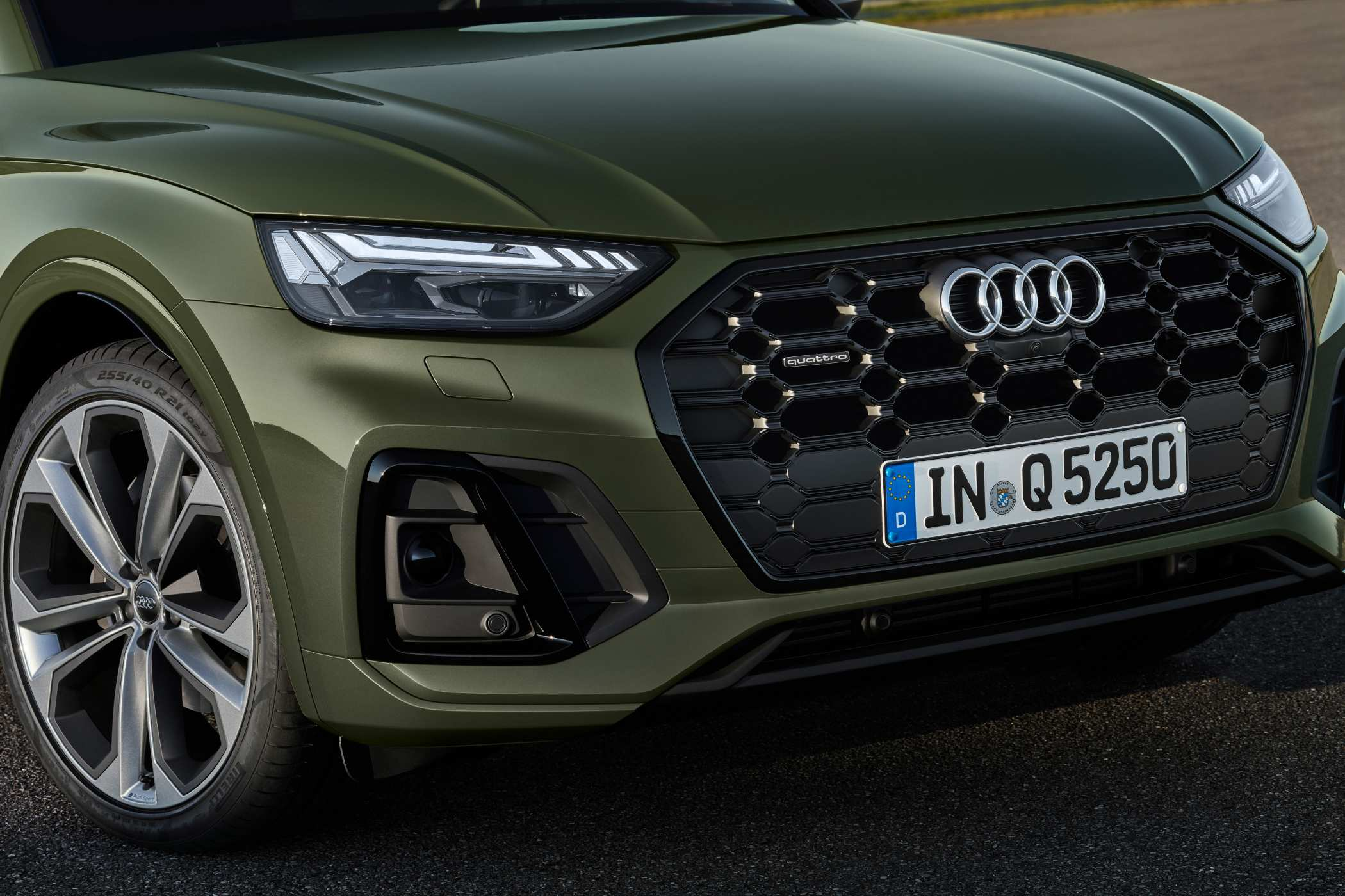 The new Audi Q5 is expected to arrive in Australia in the first-half of 2021.