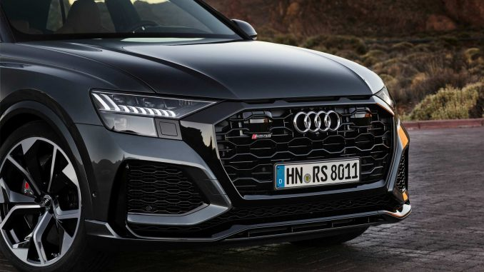 The all-new Audi RS Q8 will arrive in October for first customer deliveries.
