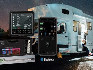 RV and Caravan power management systems include a Bluetooth compatible model – PM300-BT.