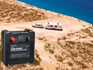 Projecta has released its new 'Sure Brake' Trailer Breakaway Kit, ensuring safety in a towing disconnection emergency.