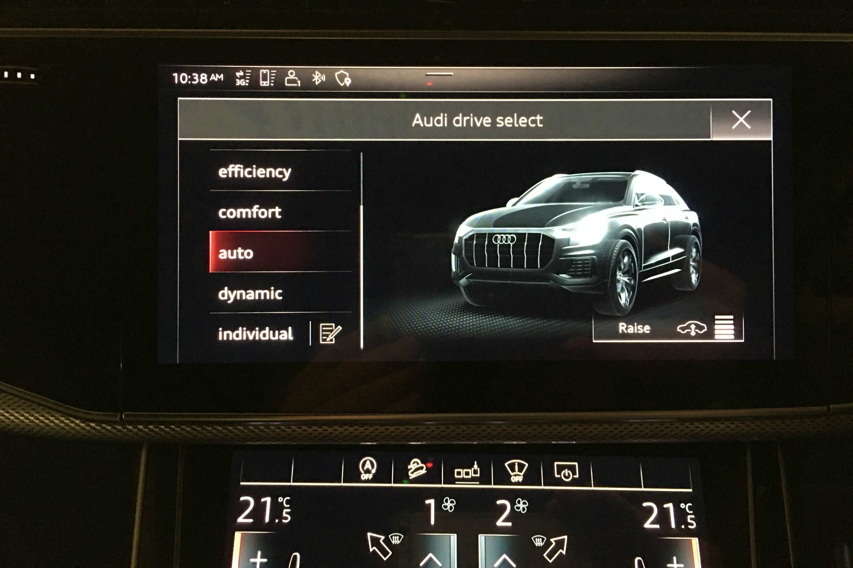Audi Q8 50 TDI S-LINE QUATTRO drive select