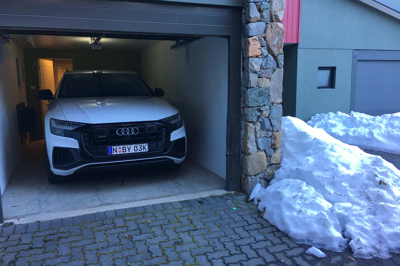 Audi Q8 50 TDI S-LINE QUATTRO parked