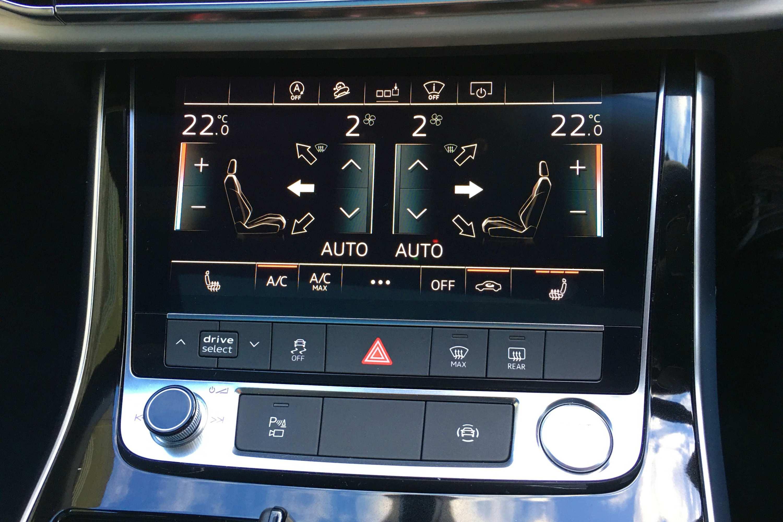 Audi Q8 50 TDI S-LINE QUATTRO screens 2