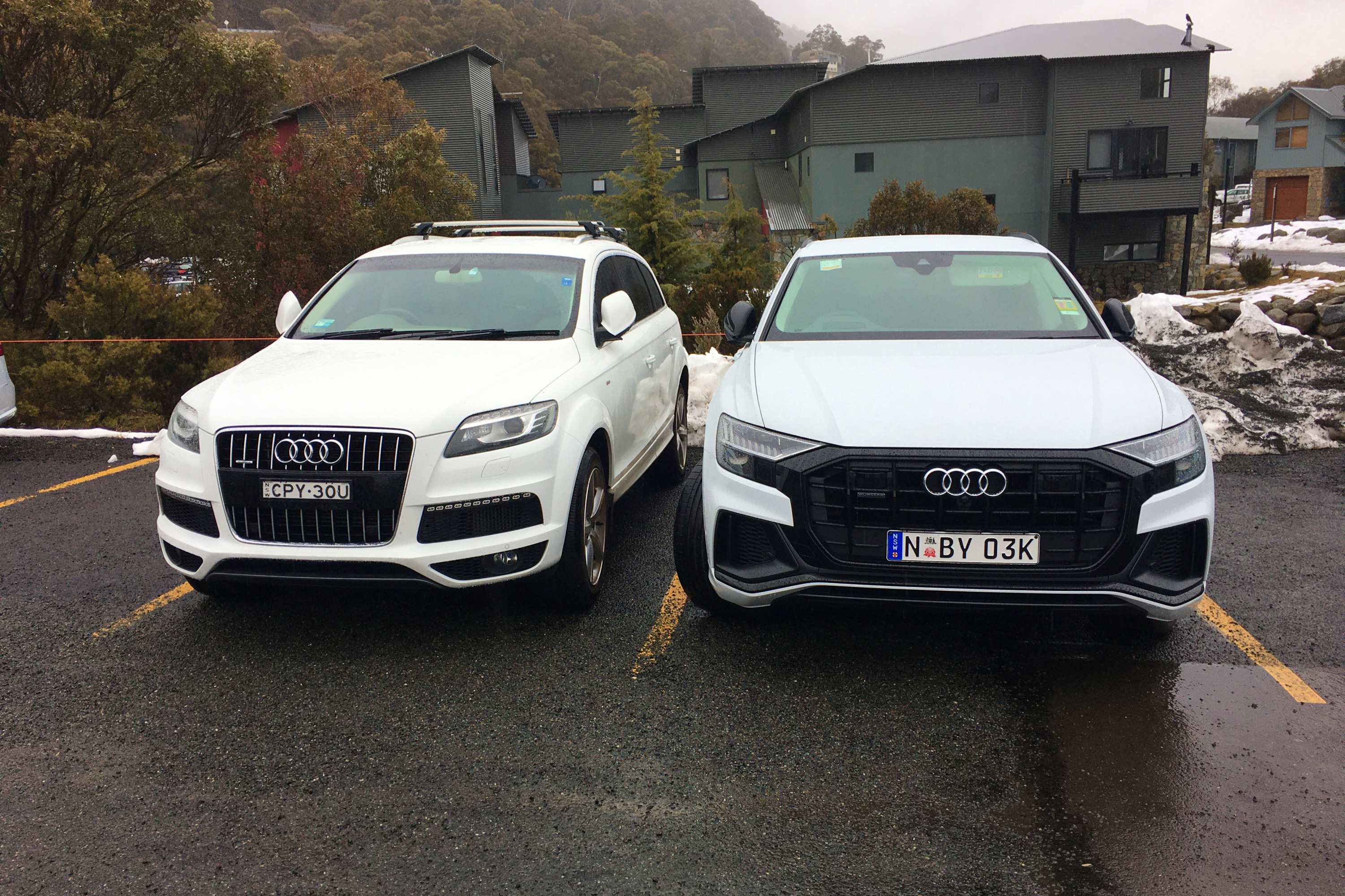 Audi Q8 50 TDI S-LINE QUATTRO with another audi